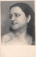"""0265 """"ROSETTA PAMPANINI - MILANO 1896/CORBOLA 1973 - SOPRANO"""" AUTOGRAFO. CART NON SPED - Artistes"""
