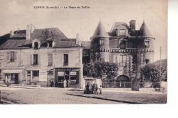 YERRES  La Place Du Taillis - Yerres