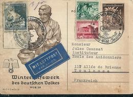 POLOGNE - BAD WARMBRUNN  En 1939  Mit Luftpost - Polonia