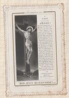8AK2359 Image Religieuse Pieuse DENTELLE CONSUMMATUM EST JESUS  LETAILLE BOUMARD PL 720 - Santini