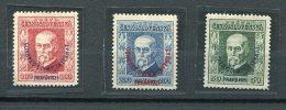 Tschecheslowakei 921-4 Xx #dx355 - Abarten Und Kuriositäten