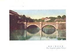 POSTAL   CHIYODA -JAPON  -THE IMPERIAL PALACE TOKYO  ( PALACIO IMPERIAL DE TOKIO) - Japón