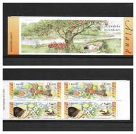 O) 2002 ALAND, BOOKLET XF- FOODS - FRUITS. TREE - ALANSUBKA MATRATTER - Aland