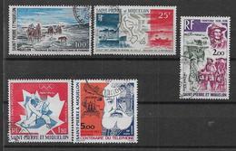 St Pierre Et Miquelon - PA Lot De 5 Timbres - Cote : 57,30 € - Airmail