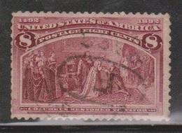 USA Scott # 236 Used - Columbus Issue - Columbus Restored To Favor - 1847-99 Emissions Générales