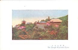 POSTAL     KYOTO  -JAPON  - THE TEMPLE KIYOMIZU  (EL TEMPLO KIYOMIZU) - Kyoto