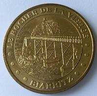 Médaille - Monnaie De Paris - Le Rocher De La Vierge - BIARRITZ - 2005 - - 2005