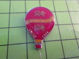 918a Pin's Pins / Beau Et Rare : Thème MONTGOLFIERE / BALLON LIBRE CMCAS CAEN SOULAC 1991 - Airships