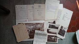 Lot 6 Photos Programmes Invitation Menus Séjour Roumanie Marquis Montferrier  Anina 1929 Rare - Lieux