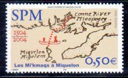 ST PIERRE ET MIQUELON - 2004 -   N° 818  ** - Nuevos