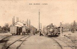 BLANZAC-La Gare-très Bon état - Autres Communes