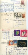37196 Russia, 4 Postcard Circuled As Scan - 1923-1991 URSS
