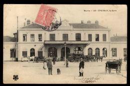 EPERNAY - La Gare - Epernay