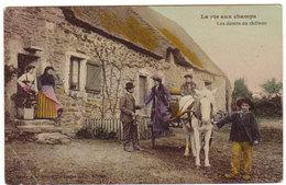 La Vie Aux Champs - Les Dames Du Chateau - édition Dugos à Nantes - !! Un Coin Corné - Fermes