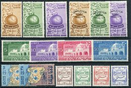 1955 - LIBIA -LOT -5  CPL. SETS = 16 VAL. -MNH.-LUXE !! - Libië