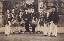 75 / PARIS / TRES BELLE CARTE PHOTO / TAMBOURS CLAIRONS / LE RAPPEL DE PARIS / FONDE LE 28 MAI 1909 - Ambachten In Parijs
