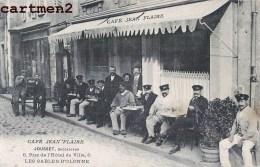 LES SABLES-D'OLONNE LE CAFE JEAN FLAIRE JOUSSET 6 RUE DE L'HOTEL DE VILLE DEVANTURE COMMERCE 85 VENDEE - Sables D'Olonne
