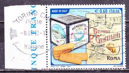 Italia 2010- Gentilini  -Usato - 2001-10: Oblitérés