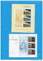 POTUGAL-ACORES  -BLOC N°3 EUROPA 82+N°4 EUROPA 83 Neufs Impec Sans Ch Cote En 2009 22 Eu - Unclassified