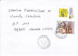 Nouvelle Calédonie, Lettre De CANALA, 2001 ( NC1) - Neukaledonien