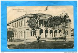 MOZAMBIQUE-Colonie Portuguaise-laurenço Marques-général Post Office -années1900-10-édition F Moinhos - Mozambique