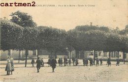 SAINT-MICHEL-EN-L'HERM PLACE DE LA MAIRIE ENTREE DU CHATEAU 85 VENDEE - Saint Michel En L'Herm