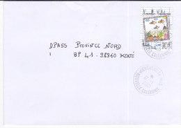 Nouvelle Calédonie, Lettre De HIENGHENE Annexe MOBILE, 2001 ( NC3) - Neukaledonien