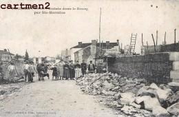 POUILLE ENTREE DANS LE BOURG PAR SAINTE-HERMINE ANIMEE 85 VENDEE - France