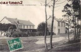 FROMENTINE L'ARRIVEE DU TRAIN GARE STATION 85 VENDEE - France