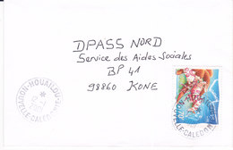 Nouvelle Calédonie, Lettre De HOUAILOU, 2001 ( NC4) - Briefe U. Dokumente