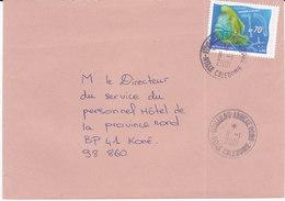 Nouvelle Calédonie, Lettre De HOUAILOU ANNEXE PORO, 2001 ( NC5) - Briefe U. Dokumente
