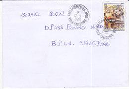 Nouvelle Calédonie, Lettre De KAALA-GOMEN  ANNEXE MOBILE, 2001 ( NC6) - Nouvelle-Calédonie