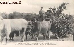 LES LUCS-SUR-BOULOGNE FETE DE LA VICTOIRE CHAR AGRICULTURE ATTELAGE 85 VENDEE - Les Lucs Sur Boulogne