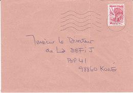 Nouvelle Calédonie, Lettre De KONE, 2001 ( NC8) - Briefe U. Dokumente