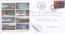 Nouvelle Calédonie, Lettre De KOUMAC, 2001 ( NC10) - Neukaledonien
