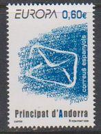 Europa Cept 2008 Andorra Sp. 1v ** Mnh (40206A) - Europa-CEPT