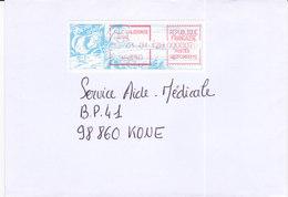 Nouvelle Calédonie, Lettre De KOUMAC, 2001 ( NC11) - Briefe U. Dokumente