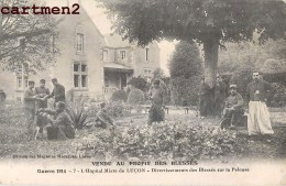 LUCON COLLEGE RICHELIEU HOPITAL MILITAIRE N°46 BLESSES SUR LA PELOUSE GUERRE SOLDATS 85 VENDEE - Lucon