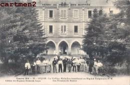 LUCON COLLEGE RICHELIEU HOPITAL MILITAIRE N°46 GUERRE SOLDATS 85 VENDEE - Lucon
