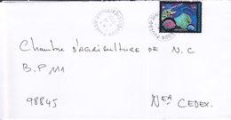 Nouvelle Calédonie, Lettre De POUEBO, 2001 ( NC14) - Briefe U. Dokumente