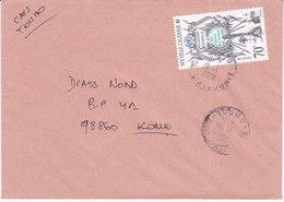 Nouvelle Calédonie, Lettre De TOUHO, 2001 ( NC17) - Briefe U. Dokumente