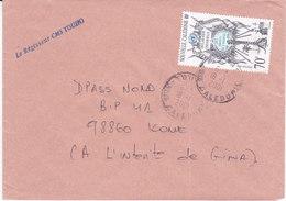 Nouvelle Calédonie, Lettre De TOUHO, 2001 ( NC18) - Neukaledonien