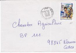 Nouvelle Calédonie, Lettre De VOH, 2000 ( NC19) - Briefe U. Dokumente