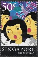 SINGAPORE 2004 Festivals - 50c - Carol Singers (Christmas) MH - Singapour (1959-...)