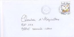 Nouvelle Calédonie, Lettre De BOULOUPARIS, 2001 ( NC20) - Briefe U. Dokumente