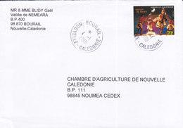 Nouvelle Calédonie, Lettre De BOURAIL, 2001 ( NC21) - Neukaledonien