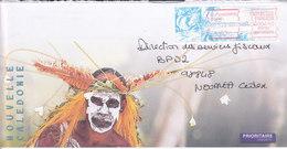 Nouvelle Calédonie, Lettre De BOURAIL, 2001 ( NC22) - Neukaledonien