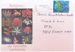 Nouvelle Calédonie, Lettre De BOURAIL, 2001? FLAMME ASSOCIATION DU PASSE ( NC23) - Neukaledonien