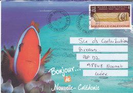 Nouvelle Calédonie, Lettre De MOINDOU GUICHET ANNEXE, 2001 ( NC25) - Neukaledonien