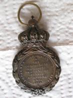 Médaille De Sainte-Hélène,  Napoléon I, Campagne De 1792 à 1815, à Ses Compagnons De Gloire,1821 - Medailles & Militaire Decoraties